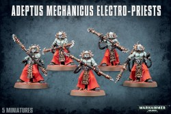 Adeptus Mechanicus: Fulgurite Electro - Priests