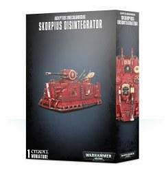 Adeptus Mechanicus: Skorpius Disintegrator