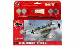 1/72 Messerschmitt Bf109E-3 Starter Set