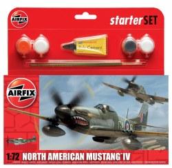 1/72 North American Mustang IV Starter Set