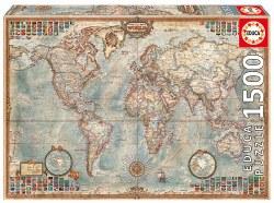 1500 Political Map o/t World