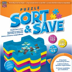Sort and Save - Puzzle Piece Trays