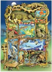 Reptiles & Amphibians 350pc