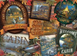 Cabin Signs 1000pc