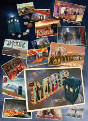 Doctor Who: Postcards 1000pc