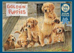 Golden Puppies 500pc