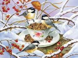 Chickadee Tea 275pc