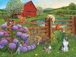 Farm Cats 275pc