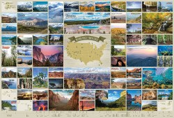National Parks of the USA 2000pc