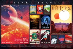 Space Travel Posters 2000pc