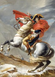 Napoleon Crossing the Alps 1000pc