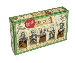 Set of 5 puzzles- Men