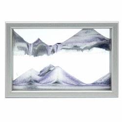 Horizon: Silver Sand Art