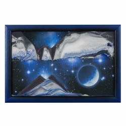 Blue Planet Sand Art (small)