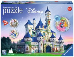 3D Disney Castle 216pc
