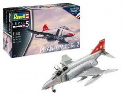 1/48 Phantom FGR2 RAF Fighter Plastic Model Kit