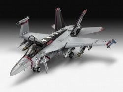 1/32 F/A 18E Super Hornet Fighter Plastic Model Kit