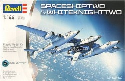 1/144 Spaceship Two & White Knight Two Plastic Model Kit