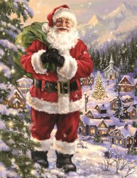 Santa's Village 500pc