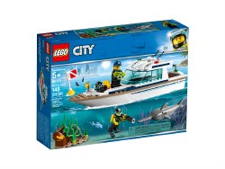 LEGO: City: Diving Yacht