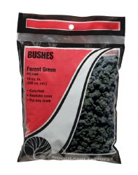 Bushes Clump Foliage Forest Green