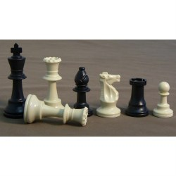 "3.75"" Plastic Chessmen"