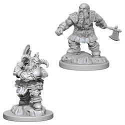 D&D NMU: Male Dwarf Barbarian