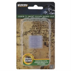 Clear 25mm Round Base (15ct.)