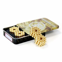 Neoballs 216 Tin Set - 22k Gold Spheres