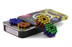 Neoballs 216 Tin Set - Rainbow Spheres