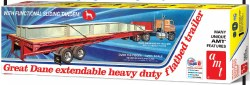1/25 Great Dane Extendable Heavy Duty Flatbed Trailer