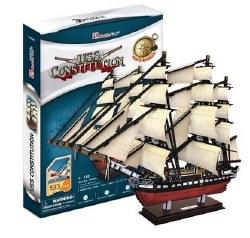 USS Constitution 3D Puzzle