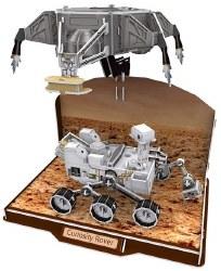 Curiosity Rover 3D Puzzle