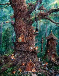 Forest Gnomes 1000pc