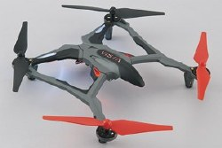 Vista UAV Quadcopter Red RTF