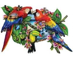 Parrots in Paradise 1000pc