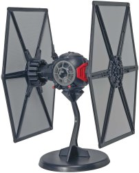 Star Wars First Order Special Forces TIE Fighter SnapTitle Model Kit