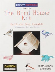 Birdhouse Kit w/PD Holes