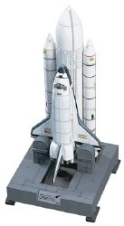 1/200 Space Shuttle Orbiter w/Boosters Model Kit