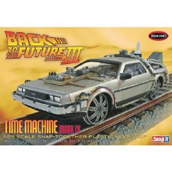 1/25 Back Future III Final Act Time Machine
