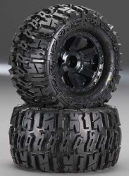 Trencher 2.8 Mntd Desperado Black Wheels Front