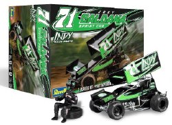1/24 Joey Saldana #71 Indy Sprint Car w/ Driver