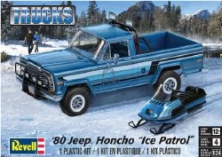 1/25 1980 Ice Patrol Honcho Jeep Pickup Truck