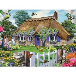 Cottage in England 1500 Piece Puzzle