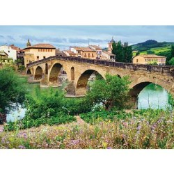 Puente La Reina, Spain 1000 Piece Puzzle