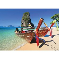 Caribbean Boats 1000 Piece Puzzle