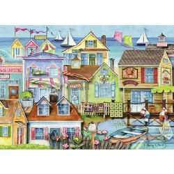 Down the Wharf 1000 Piece Puzzle