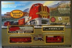 Santa Fe Flyer Set HO
