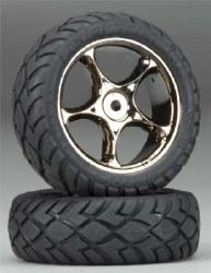 Tires & Wheels Assembled Bandit Front