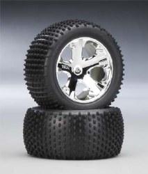 Chrome Wheel with Alias Tire
